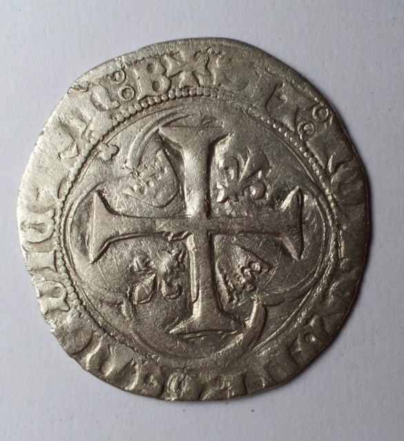 Blanc à la Couronne Charles VII 692453blanccviibourgesrevers