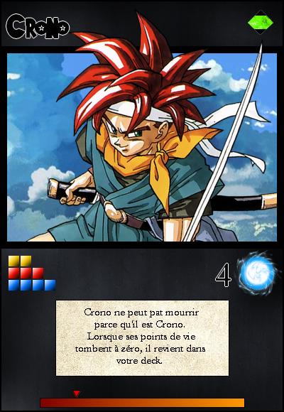 Jeu de cartes RPGDBZ 695384CronocarteN6