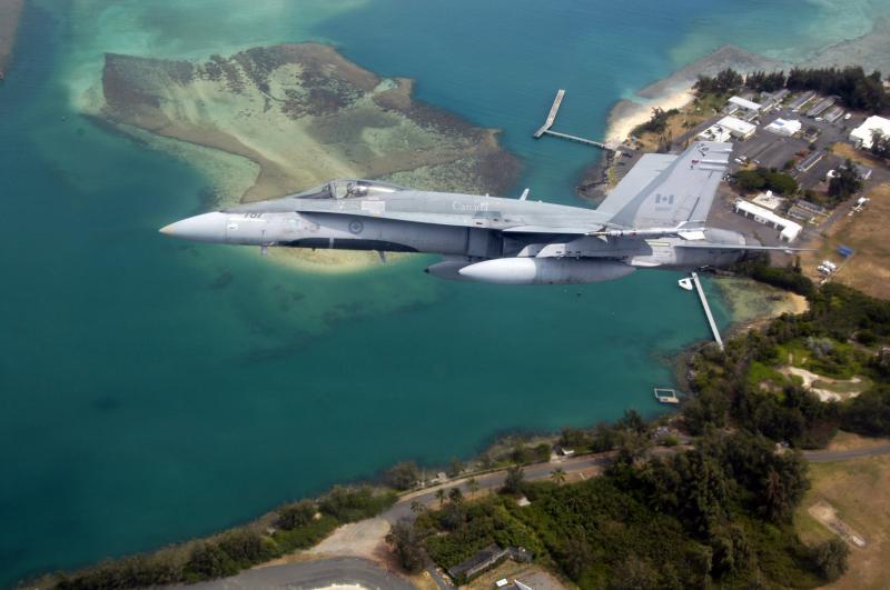 MCDONNELL-DOUGLAS F/A-18 HORNET  695452CF_18_Hawai
