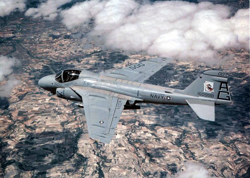 MCDONNELL-DOUGLAS F/A-18 HORNET  695838Grumman_A_6_Intruder