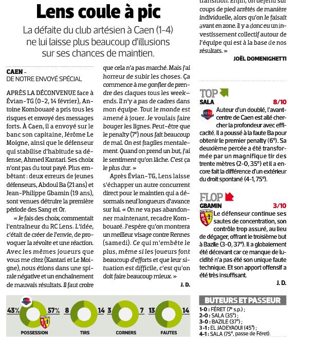 [26e journée de L1] SM Caen 4-1 RC Lens - Page 2 696592lens2