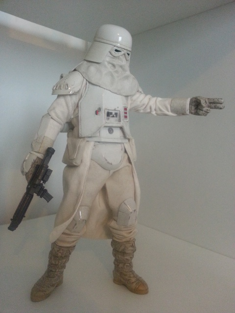 red360 review's : Star Wars Battle Of Hoth: Snowtrooper by Sideshow 69681120130426160255