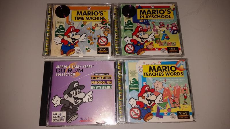 [ESTIM] Jeux CDROM PC avec Mario + Jeux N64 NTSC certains neufs 69779420160531234548