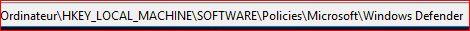 Windows Defender Désactivé 69804903WindowsDefender
