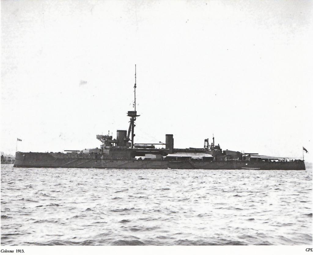 ROYAL NAVY CUIRASSES CLASSE COLOSSUS 698119Colossus1