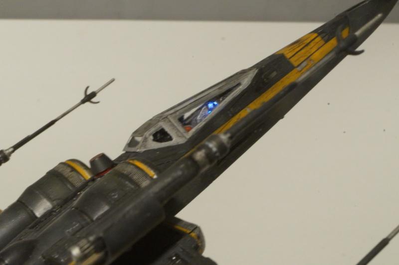 "X-Wing ""Resistance"" T-70 Bandaï 1/72 699631DSC01539"
