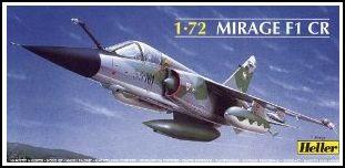 Mirage F1 CR heller 72e 700331Capturerm1