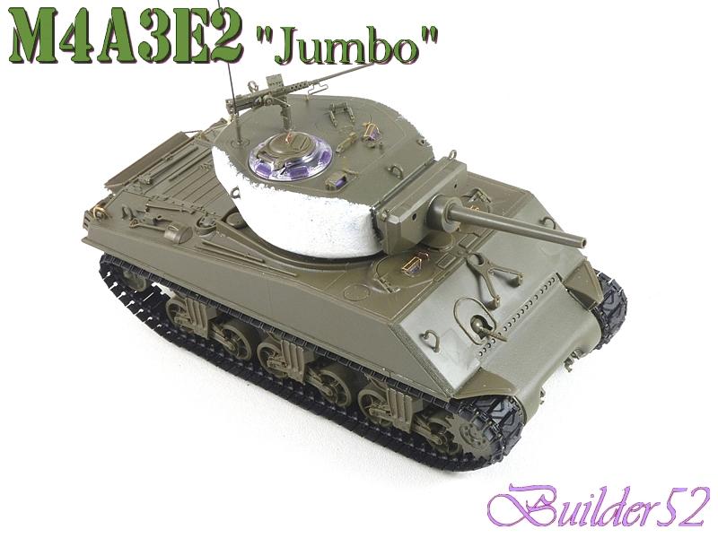SHERMAN M4A3E2 JUMBO - TASCA 1/35 - Page 2 701136P1050235
