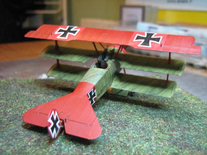 [Eduard] Fokker Dr I 152/17 Rittm Manfred von Richthofen Mars 1918 706433IMG0289