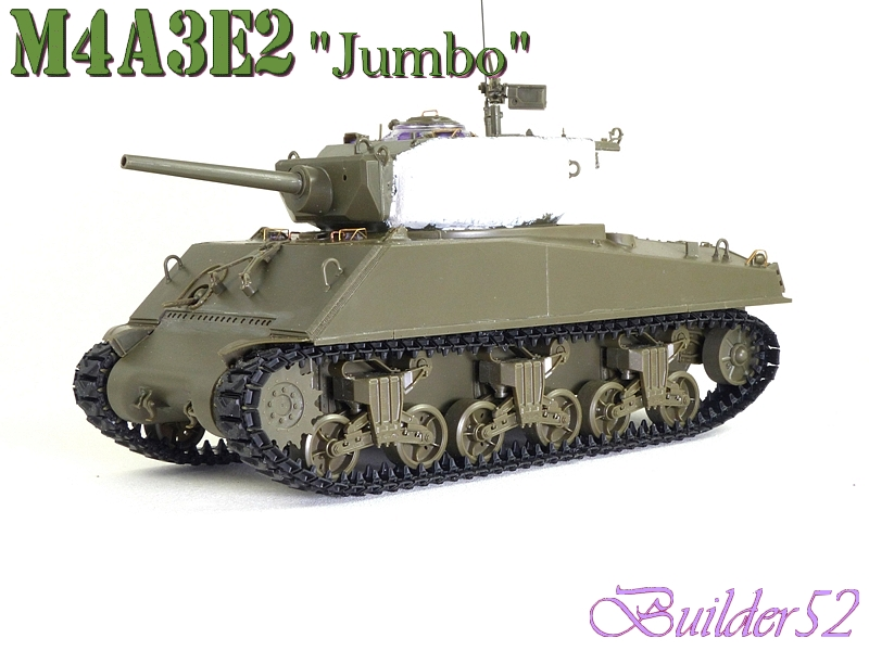 SHERMAN M4A3E2 JUMBO - TASCA 1/35 - Page 2 707494P1050232