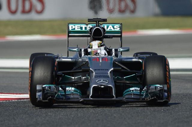 F1 GP d'Espagne 2014 : (essais libres-1-2-3-Qualifications) 7076532014libres1LewisHamilton