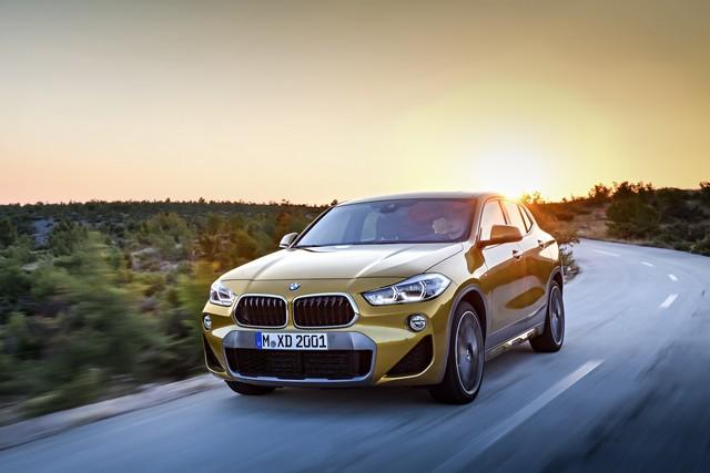 La nouvelle BMW X2 Silhouette élégante, dynamique exceptionnelle 708835P90278986highResthebrandnewbmwx2