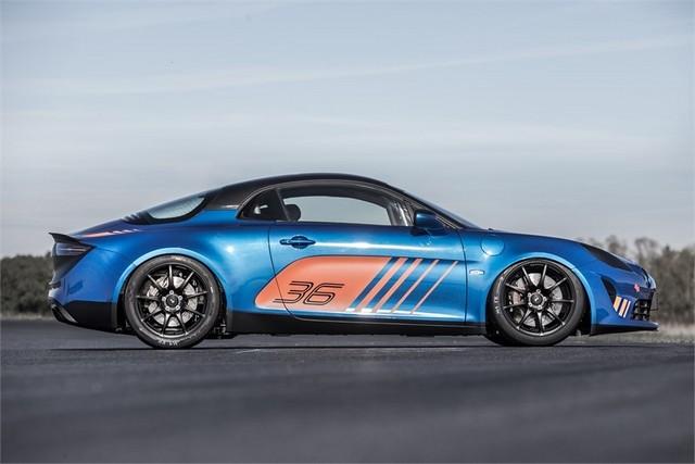 Alpine A110 Cup : une authentique voiture de course, taillée pour les plus grands circuits européens 712719211986942017AlpineA110Cup