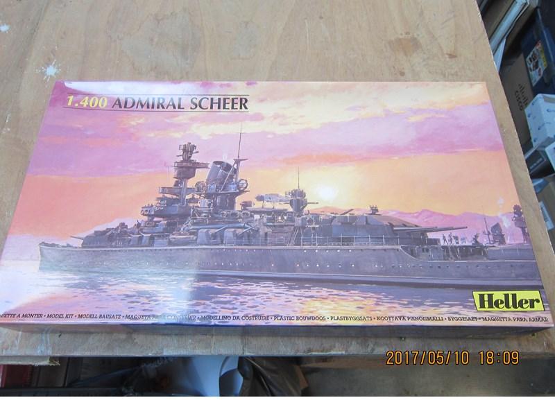 Admiral Scheer  Heller 1/400 Concours Heller 60 ans 713342IMG4637Copier