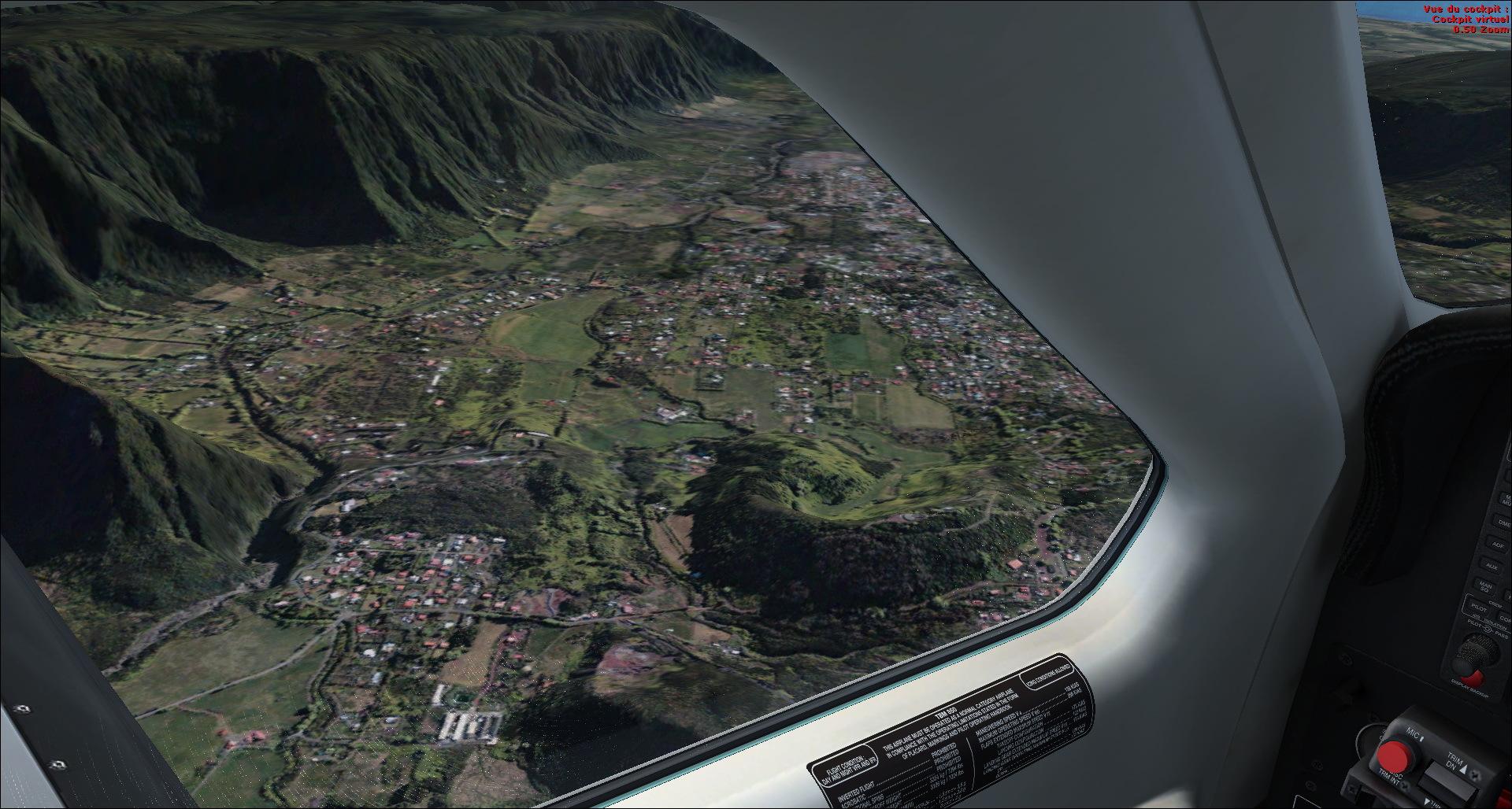 Survol de l'Ile de la Réunion 7133682014829205433648