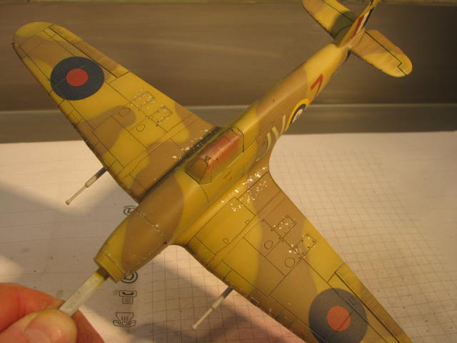 Hawker Hurricane Mk IId Trop 6 Sqn 1942 Hobbycraft 1/48.... Terminé! 714261IMG1138