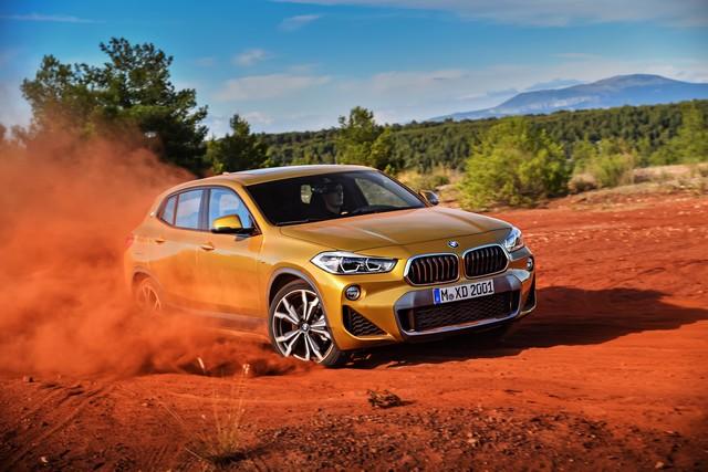 La nouvelle BMW X2 Silhouette élégante, dynamique exceptionnelle 714278P90278974highResthebrandnewbmwx2