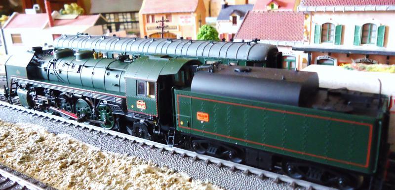 Loco vapeur 141 Jouef 3 rails AC d'origine 715197DSC02360