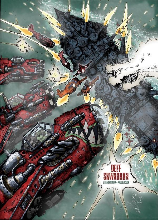 Deff Skwadron de Gordon Rennie & Paul Jeacock (Graphic Novel) 715317poddeffskwadron