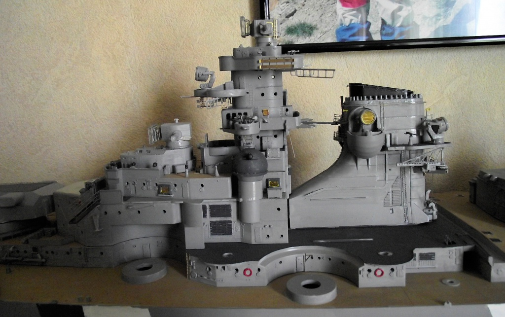 Bismarck Trumpeter 1x200 avec PE et figurines Eduard 715960Bismarck1x20076