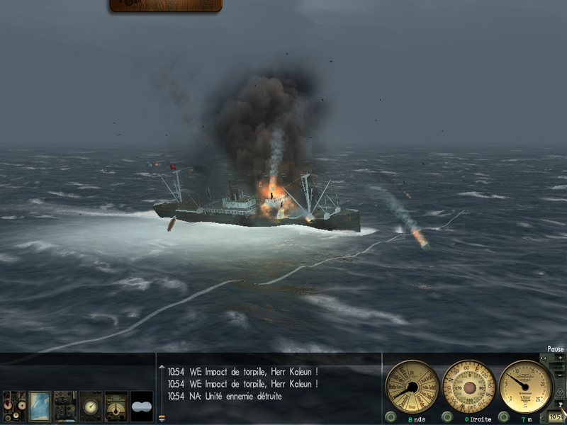 Silent Hunter III : rapports de patrouille. 716942Patr3