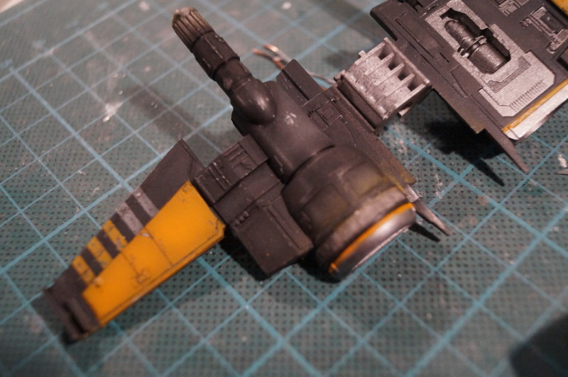 "X-Wing ""Resistance"" T-70 Bandaï 1/72 720719DSC01435"