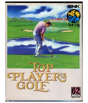 Les boîtes cartons AES Jap  722037TopPlayersGolfNEO2Sell