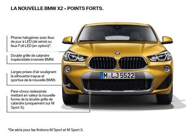 La nouvelle BMW X2 Silhouette élégante, dynamique exceptionnelle 722554P90282867highResthebrandnewbmwx2