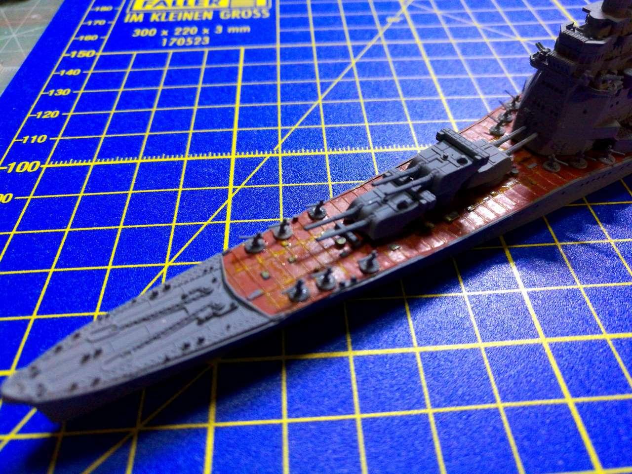 Croiseur TAKAO 1944 1/700 Pit-Road 723453Takao29