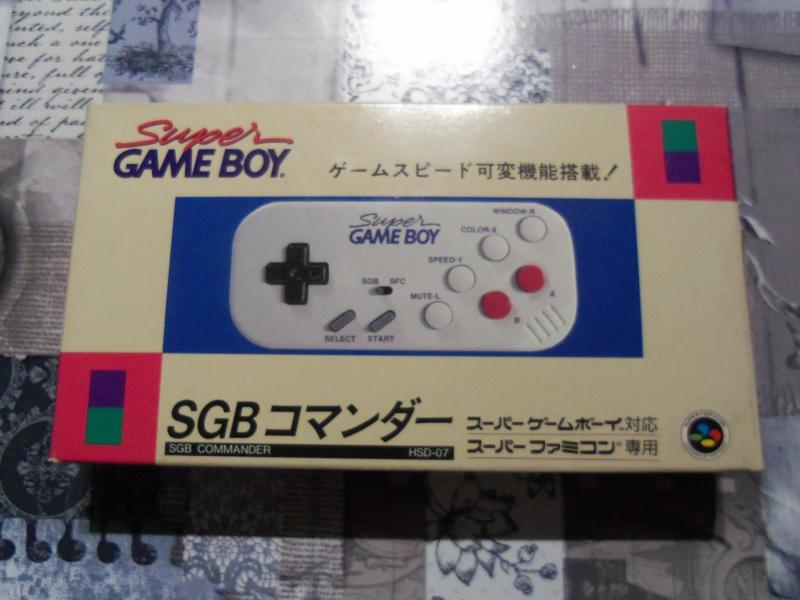[EST] Super Gameboy Player 2 neuf en boite + SGB commander HORI  7234821004017