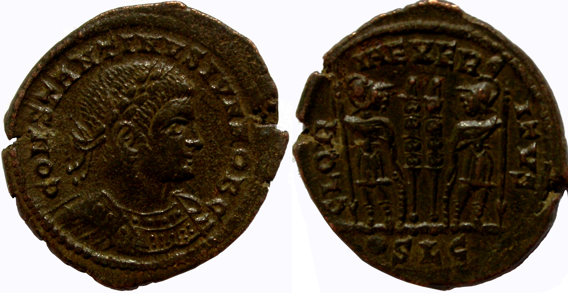 Collection Lombardus - Page 5 723671CONSTANTINIILYONGLORIAEXERCITVSpointSLGRIC24417mm2g43201704