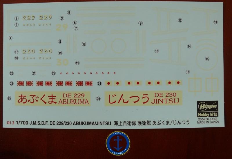 JDS Abukuma & Jintsu 1/700 Hasegawa 726260P1080434