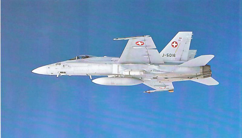 MCDONNELL-DOUGLAS F/A-18 HORNET  727360F_18C_Suisse_1