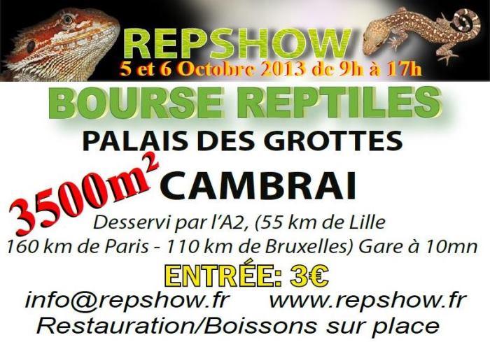 Bourse Aux Reptiles de Cambrai 05/06 Octobre 2013 728728rectocouv