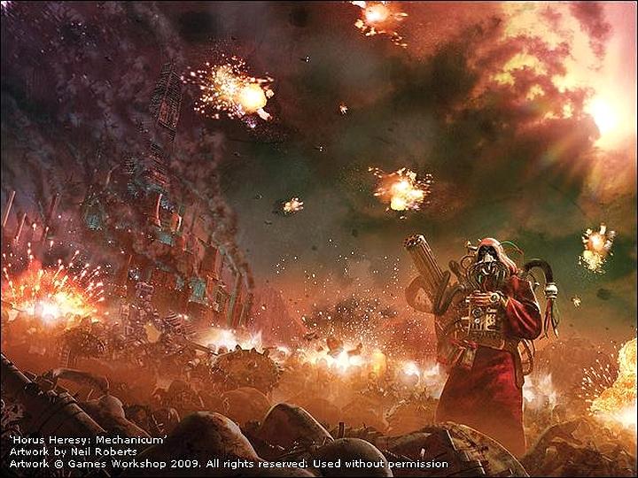 Horus Heresy Wallpapers 728738mechanicum