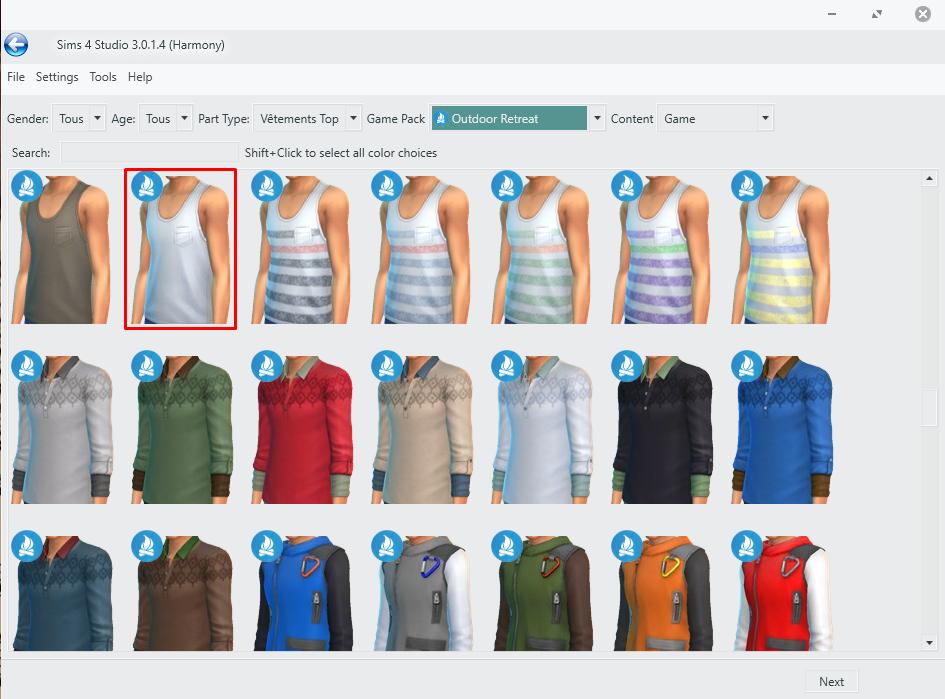 [Atelier de création de vêtement] Partie 1 : Recoloration simple 730595Vtement