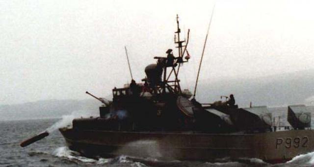 construction du KVIKK, navire patrouilleur lance torpille de la classe SNOGG 731572gen51