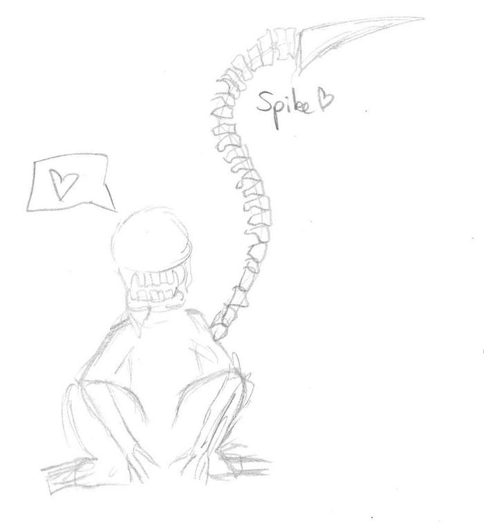 La serre à dessin de la Fougère! 733273spike