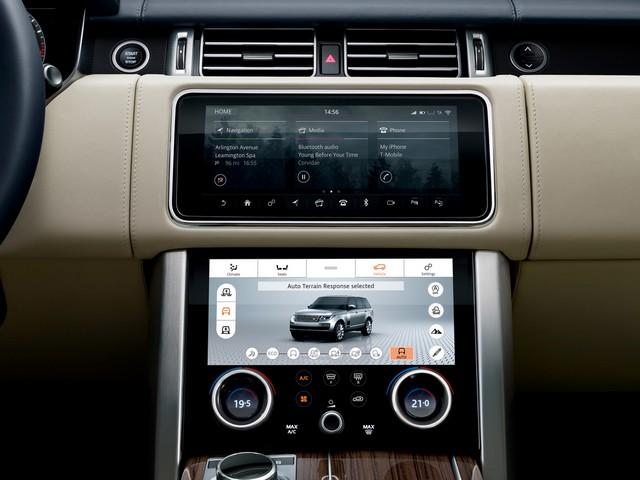 Le Nouveau Range Rover intègre dans sa gamme une motorisation essence hybride rechargeable 734204rr18mydetail10101716