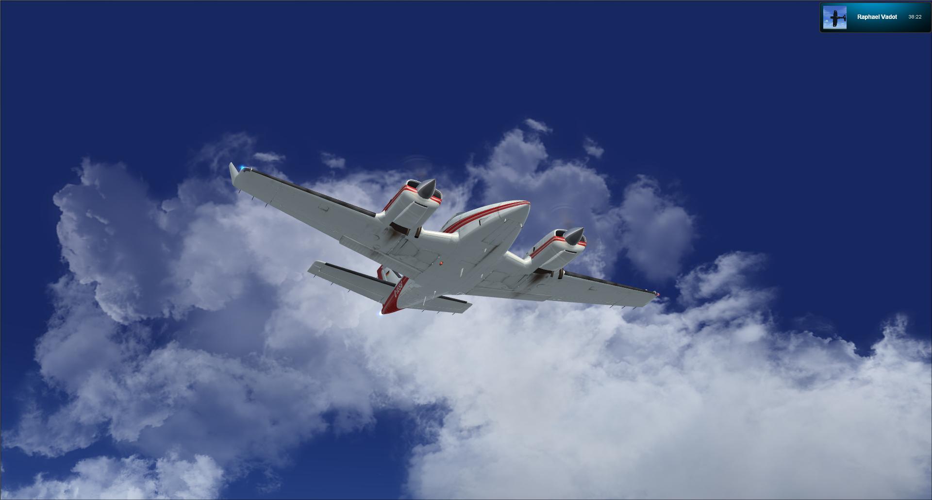 Vol VFR entre Bale et Clermont ferrand 73515020121125175452