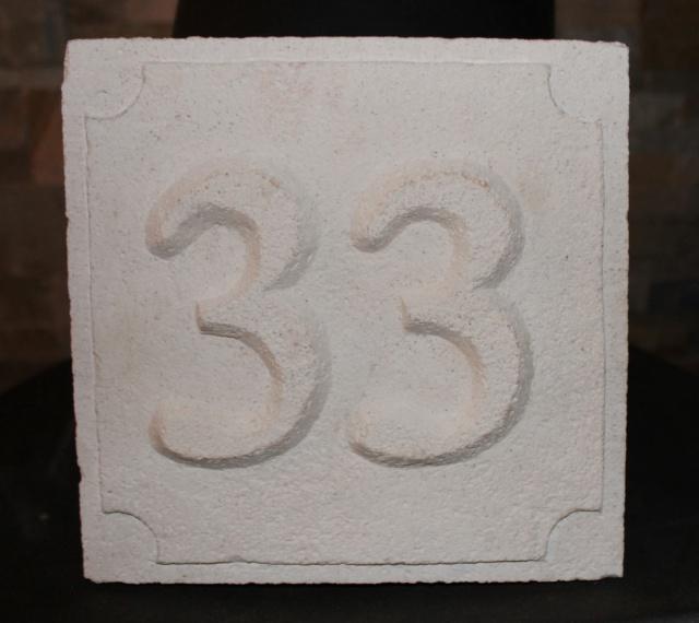 Numéro de rue sculptée  737252fred2002bis