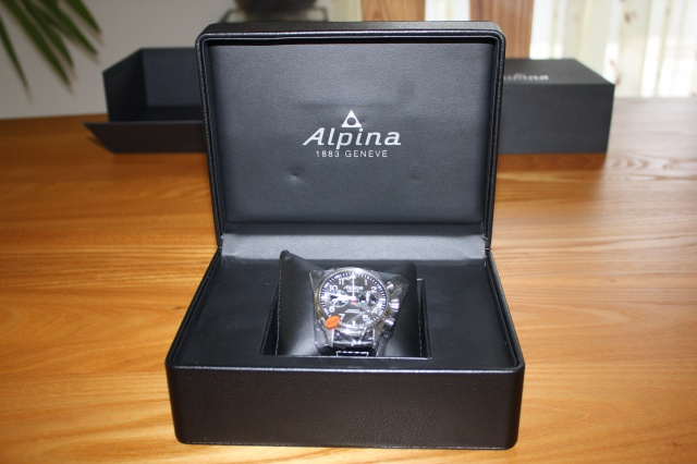 "Alpina - [Revue]Alpina Startimer Pilot Chrono 'sunray"" 737487292"