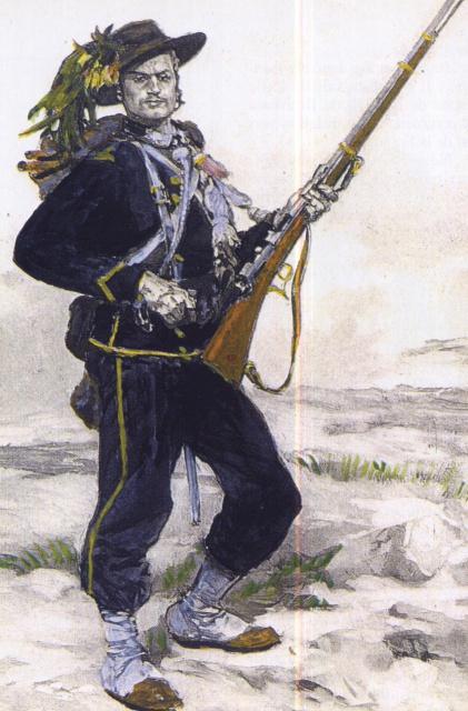 Corps francs de chasseurs - 1870 739126ChasseurdesAlpes1870