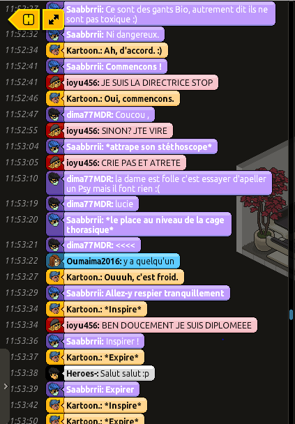 [Saabbrrii] Rapports d'actions RP - Infirmier 739541rp4