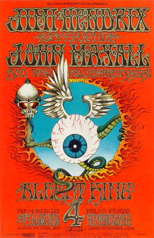 San Francisco (Winterland) : 4 février 1968 [Premier concert] 740190BG105PO