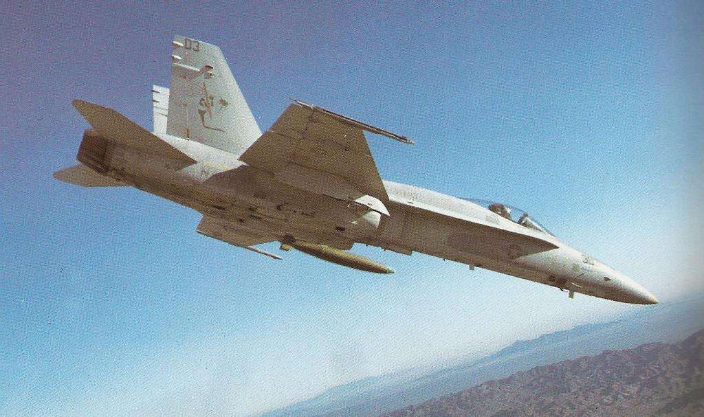 MCDONNELL-DOUGLAS F/A-18 HORNET  741390F18_Hornet_premiere_photo_article