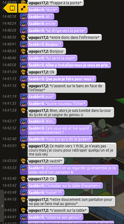 [Saabbrrii] Rapports d'actions RP - Infirmier 742838rpugo1