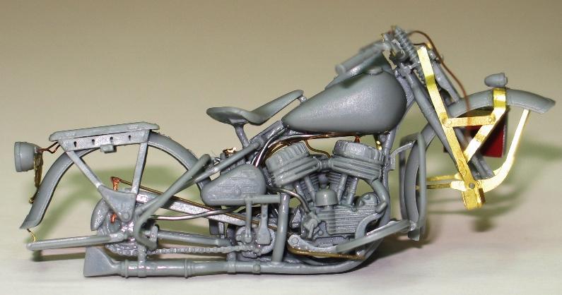 Harley WLA US Army WW2  Miniart 1/35 743276IMG0124