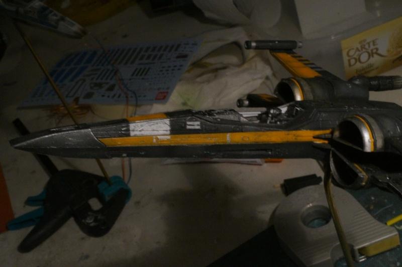 "X-Wing ""Resistance"" T-70 Bandaï 1/72 744117DSC01475"