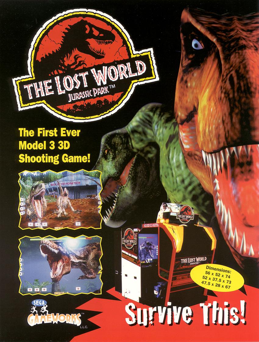 Jurassic park 745501TLWVGArcadePromo